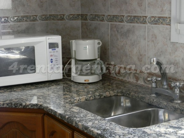 Ibera and Moldes: Furnished apartment in Belgrano