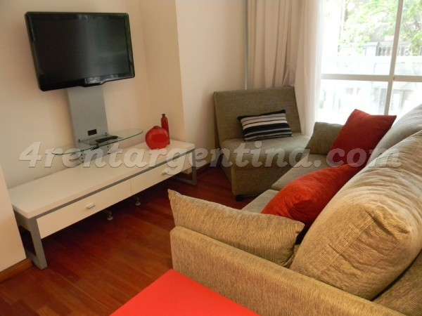 Fitz Roy and Soler II: Furnished apartment in Palermo