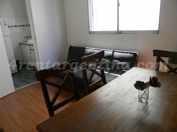 Paraguay and Borges I: Furnished apartment in Palermo