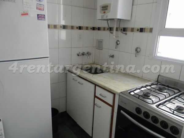 Paraguay and Borges I: Apartment for rent in Buenos Aires