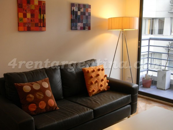 Juncal and Oro II: Apartment for rent in Buenos Aires