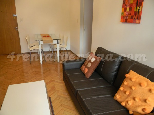 Juncal and Oro II: Apartment for rent in Palermo