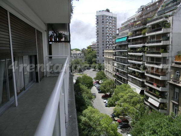 Galileo and Las Heras, apartment fully equipped