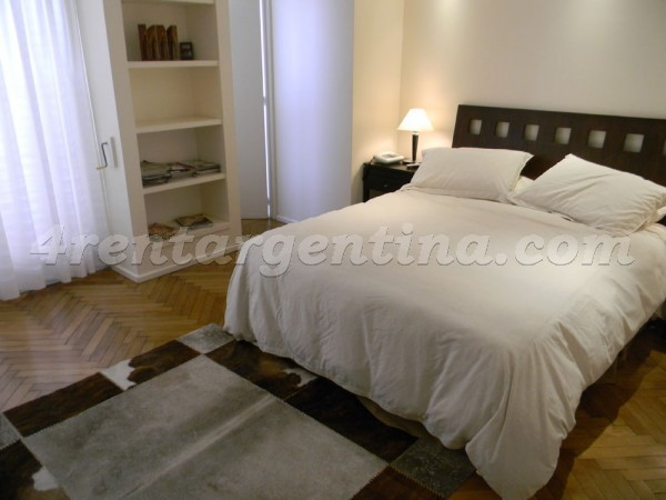 Apartment Galileo and Las Heras - 4rentargentina