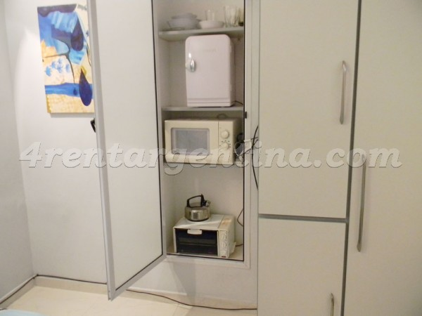 Corrientes and Maipu V: Furnished apartment in Downtown