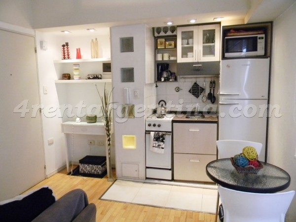 Azcuenaga and Guido V: Apartment for rent in Recoleta