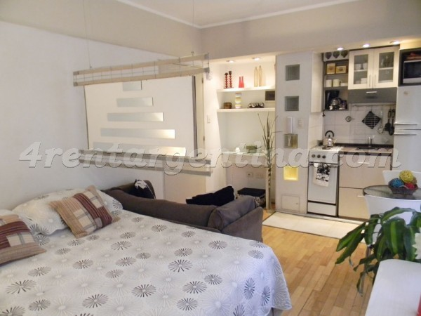 Azcuenaga and Guido V: Furnished apartment in Recoleta