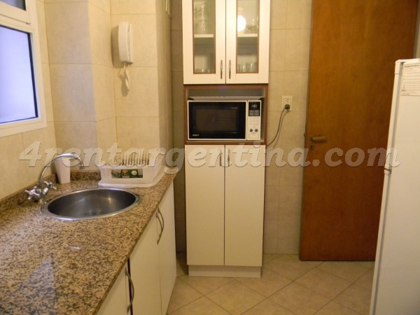 Pacheco de Melo and Callao: Furnished apartment in Recoleta
