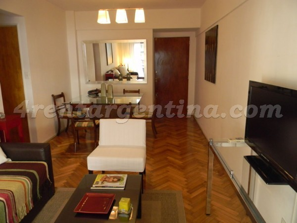 Pacheco de Melo and Callao: Apartment for rent in Buenos Aires