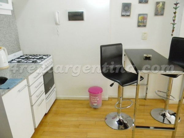 Aguero and Santa Fe: Apartment for rent in Palermo