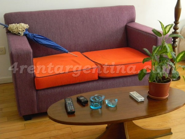 Aguero and Santa Fe: Furnished apartment in Palermo