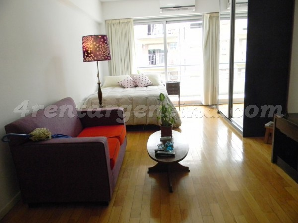 Aguero et Santa Fe: Furnished apartment in Palermo