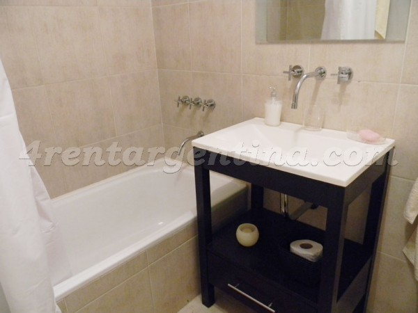 Soldado de la Independencia and Zabala: Furnished apartment in Las Ca�itas