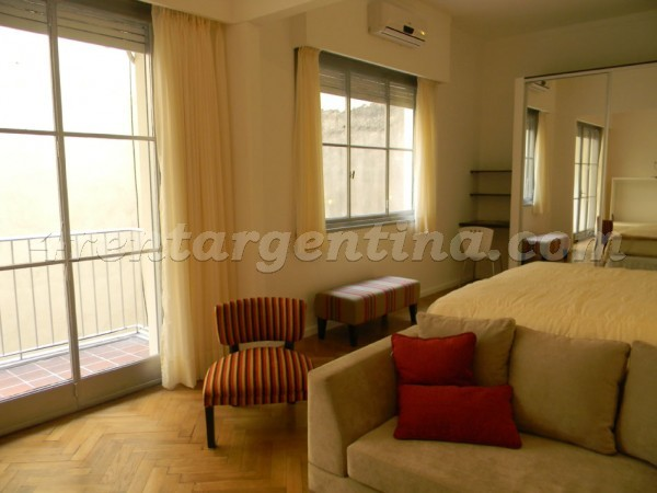 Tucuman et Maipu: Furnished apartment in Downtown