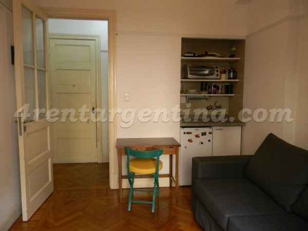 Bartolome Mitre and Esmeralda: Furnished apartment in Downtown