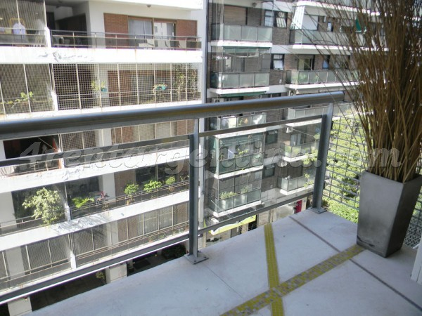 Bulnes et Las Heras III, apartment fully equipped