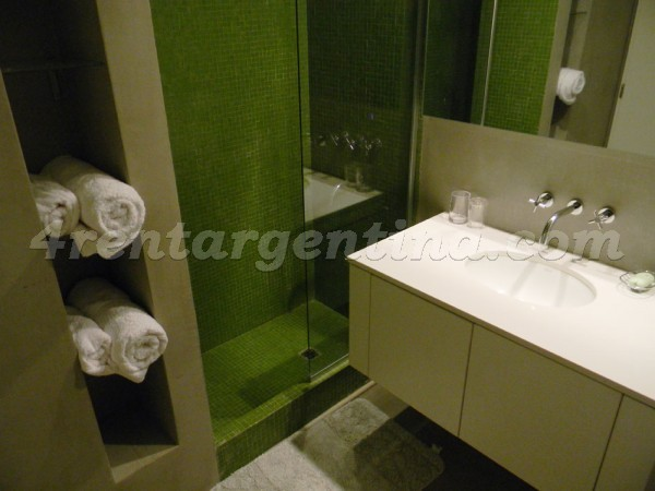 Bulnes and Las Heras III: Furnished apartment in Palermo