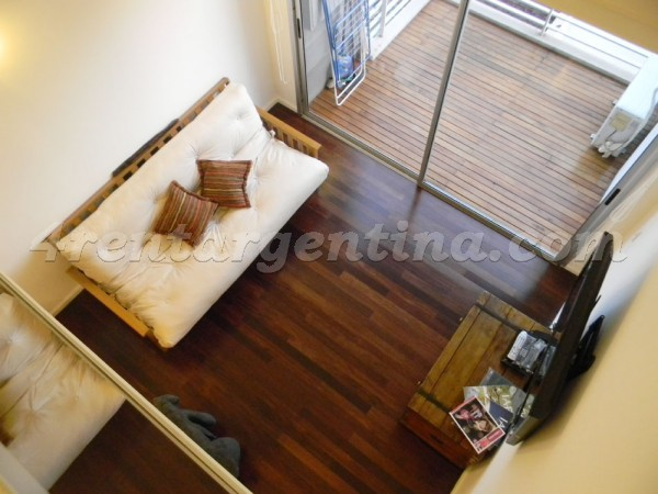 Guatemala and Arevalo II: Apartment for rent in Palermo