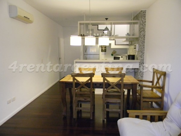 Guatemala and Arevalo II: Furnished apartment in Palermo