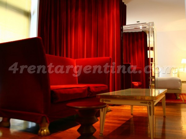 Eyle and Manso III: Furnished apartment in Puerto Madero