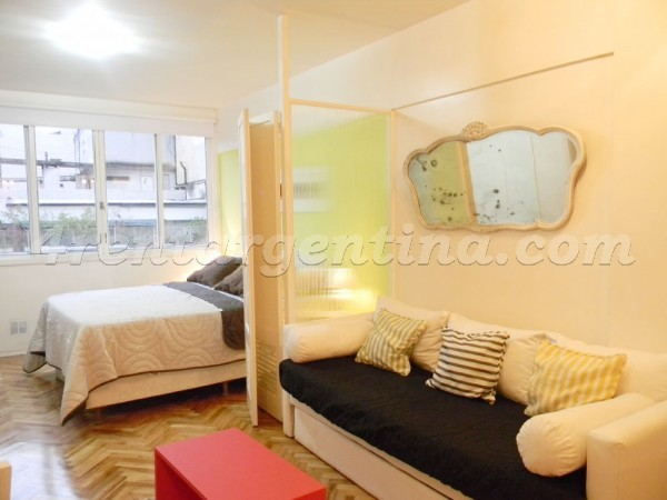 Lavalle et Callao IV: Furnished apartment in Downtown