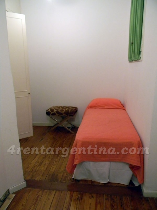 Quintana and Parera: Apartment for rent in Recoleta