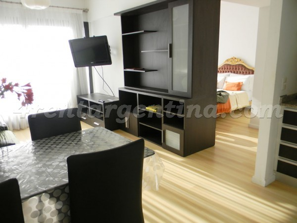 Corrientes and Thames, apartment fully equipped