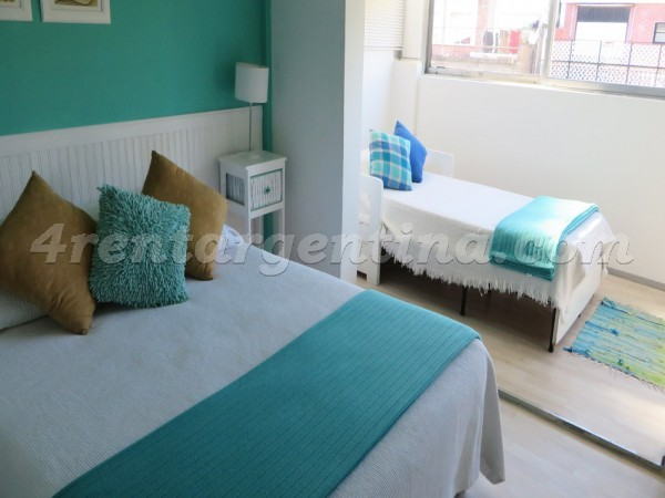 Matienzo and Ciudad de la Paz: Furnished apartment in Belgrano