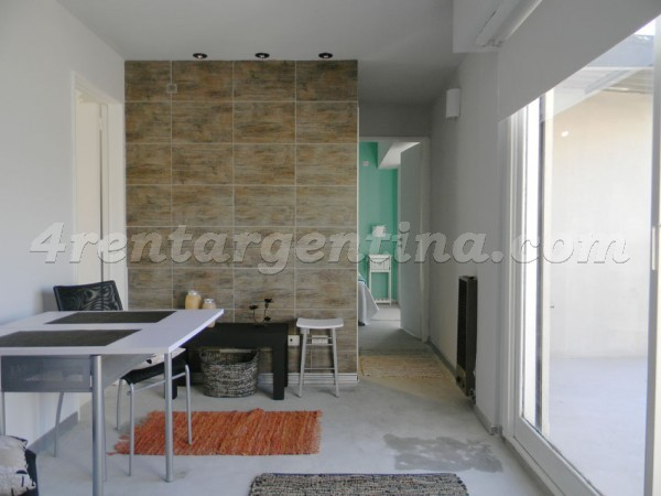 Matienzo et Ciudad de la Paz: Furnished apartment in Belgrano