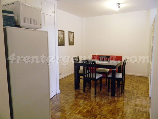 Cordoba and Suipacha V: Apartment for rent in Buenos Aires