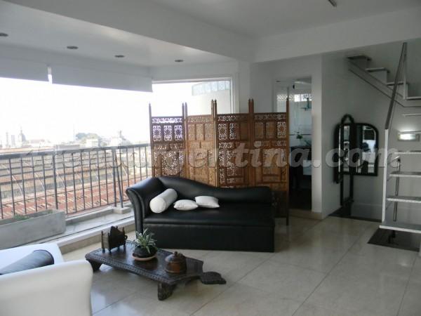 Apartment Libertador and Esmeralda - 4rentargentina