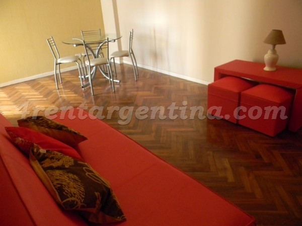 Santa Fe and Darregueyra I, apartment fully equipped