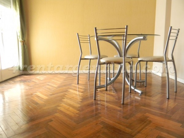 Santa Fe and Darregueyra I: Furnished apartment in Palermo