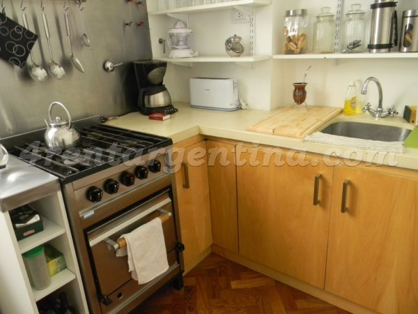 Venezuela and Tacuari: Furnished apartment in San Telmo