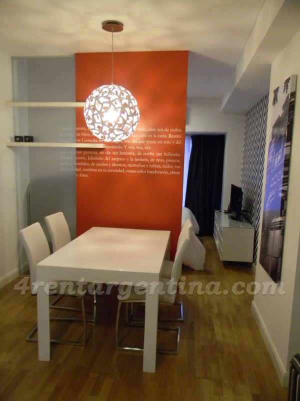 Riobamba and Corrientes I: Apartment for rent in Buenos Aires