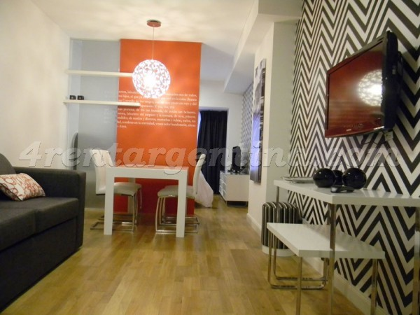 Riobamba and Corrientes I: Furnished apartment in Downtown
