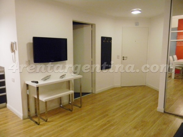 Riobamba and Corrientes, apartment fully equipped