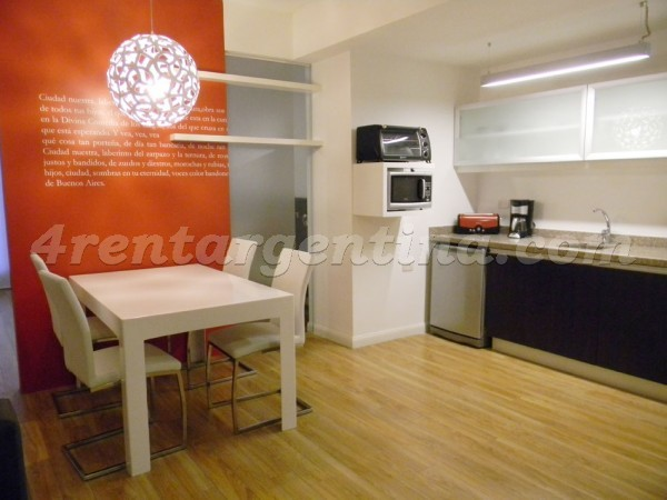 Riobamba and Corrientes: Apartment for rent in Downtown