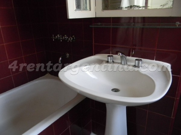 Laprida and Beruti: Apartment for rent in Recoleta