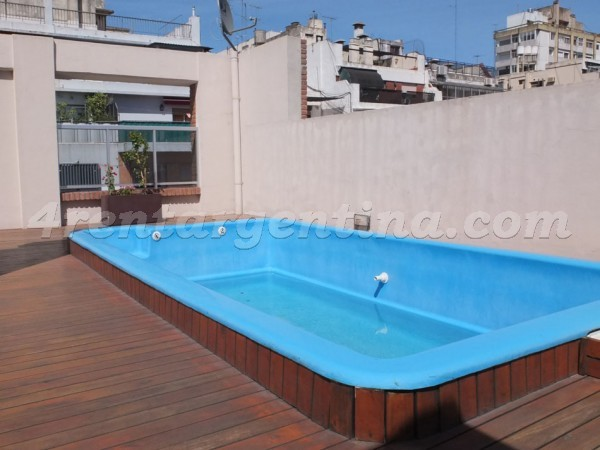 Senillosa and Rosario XII: Furnished apartment in Caballito