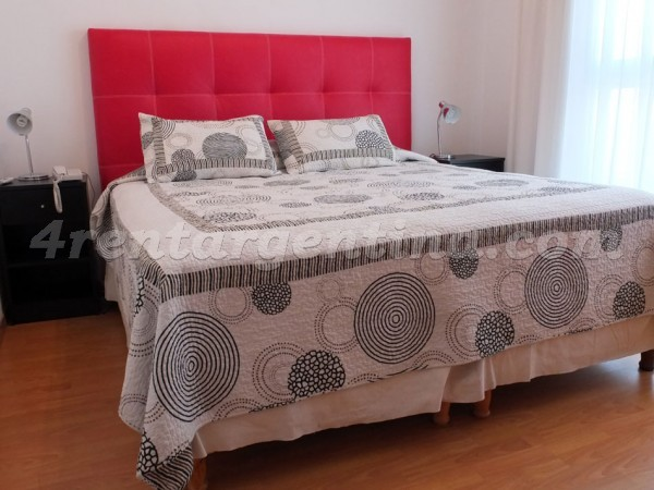 Senillosa and Rosario XIII: Furnished apartment in Caballito