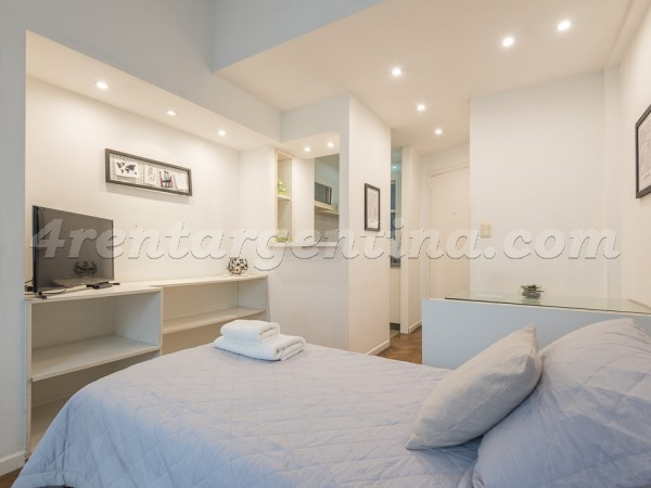 Guido and Pueyrredon X: Furnished apartment in Recoleta