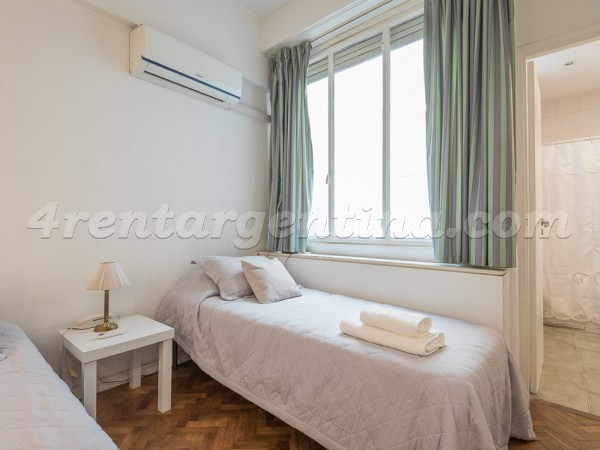 Guido and Pueyrredon X: Apartment for rent in Recoleta