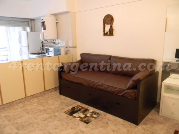 Hipolito Yrigoyen and Alberti: Furnished apartment in Congreso