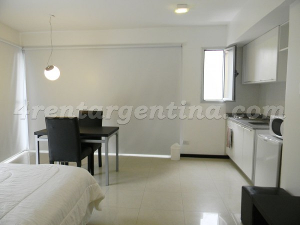 Bustamante and Guardia Vieja, apartment fully equipped