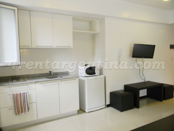Bustamante and Guardia Vieja: Furnished apartment in Abasto