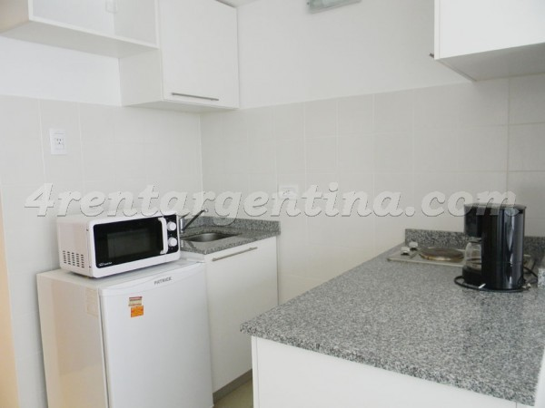 Bustamante and Guardia Vieja IV: Furnished apartment in Abasto