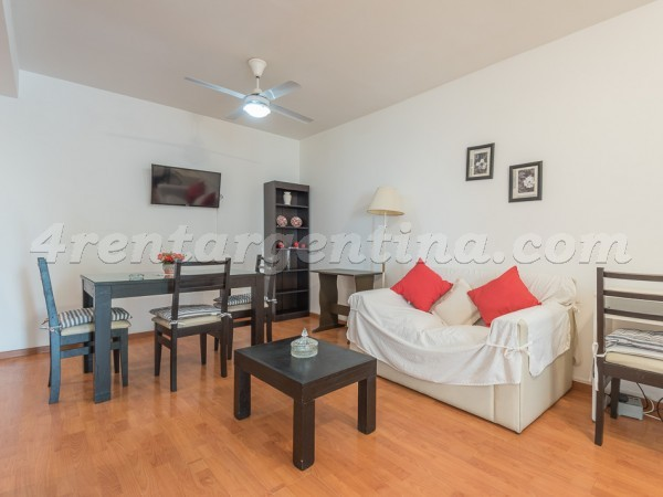 Larrea and Beruti IV: Apartment for rent in Buenos Aires