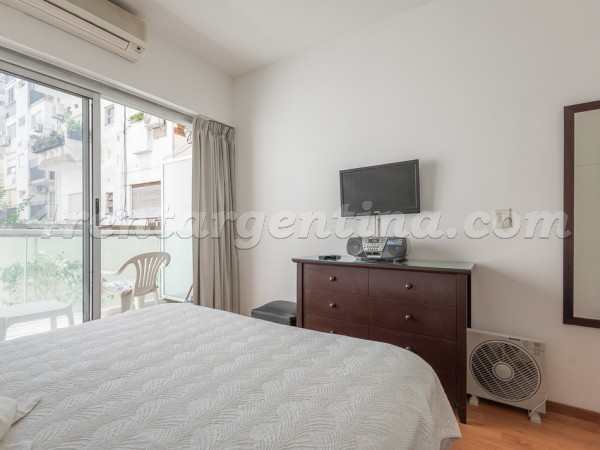 Larrea and Beruti IV, apartment fully equipped