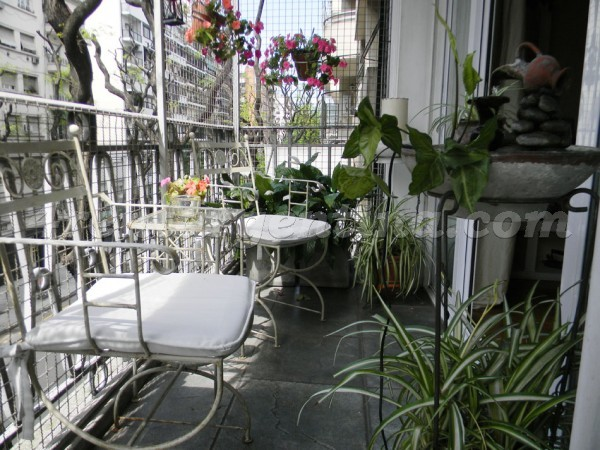 Coronel Diaz et Charcas: Apartment for rent in Buenos Aires